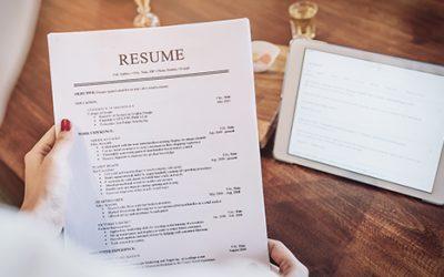 Check references, resumés carefully when hiring