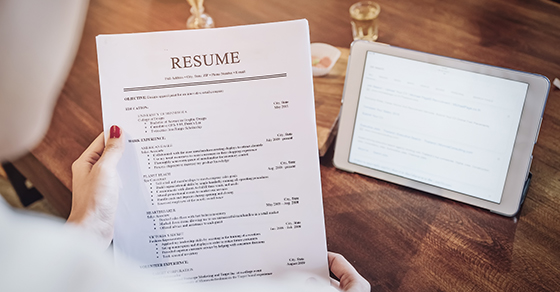 Check references, resumés carefully when hiring